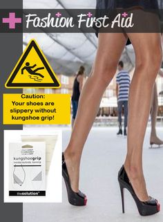 KungShoeGrip do not cause sweat & works on wet surfaces with your slippery shoes. Hi-Ya! http://ss1.us/a/HHhXwrRW