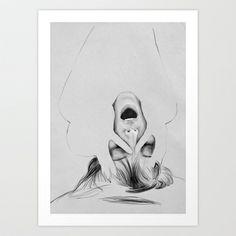 SCREAM. Art Print by Judith Van Den Hoek - $30.00