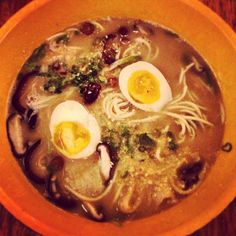 1pm - Lunch at Momi Ramen! Delicious spicy ramen to power through the next museum...