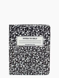 compostion notebook ipad folio #luvocracy #design