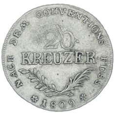 "20 Kreuzer 1809 ""Hofer Zwanziger"""