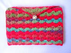 Crocheted Tablet Cover Tablet Cozy Multicolored by egbertsbeans, $19.00