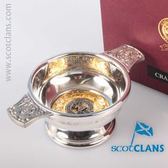 Crawford Clan Crest Quiach. Free worldwide shipping available