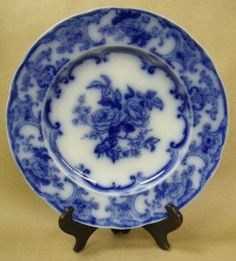 Wedgwood Pearl 9.5 Dinner Plate Camelia Pattern by PeggysAntiques, $59.99