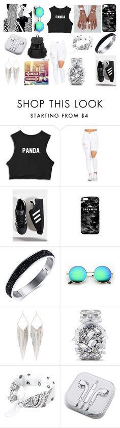 """Panda, Panda, Panda!"" by eva-dancehall ❤ liked on Polyvore featuring adidas, Mr. Gugu & Miss Go, Jules Smith, Victoria's Secret and PhunkeeTree"