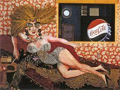 Antonio Berni - Ramona, la prostituta, en la intimidad