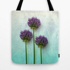 Allium Three Tote Bag