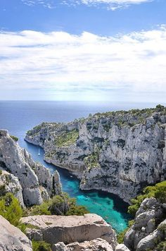 To the Sea...Calanque d'En-Vau - Marseille (Bouches-du-Rhône, France), via Flickr. Travels ideas, Europe travels