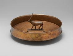 Votive bowl bronze or copper alloy Egypt ca. 1479-1425 B.C. [3873x2997]