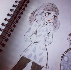 Looks kind of like an alternate Meg from Paperman