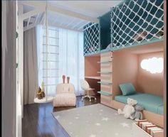 Small Room Design Bedroom, Small Bedroom Furniture, Kids Bedroom Designs, Home Room Design, Bed Design, Room Decor Bedroom, Home Interior Design, Furniture Layout, Cool Kids Bedrooms