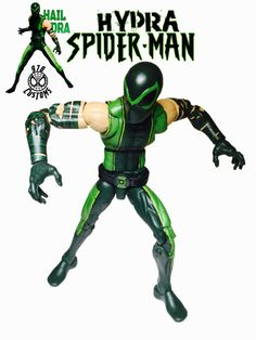 Hydra Spider-Man (Marvel Legends) Custom Action Figure [Hydra Spider-Man cover]