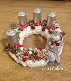 Christmas Deco, Winter Christmas, Christmas Wreaths, Christmas Crafts, Advent Wreath, 3d Printing, Home And Garden, Decoration, Holiday Decor
