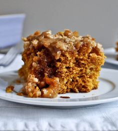 Recipe for Pumpkin Coffee Cake