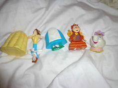 Beauty and the beast McDonalds 90s La belle et la bête, Mc Donalds, jouets années 90