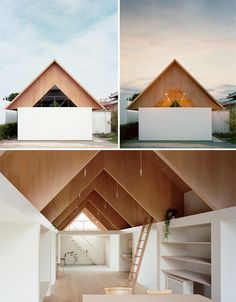 Modern Plywood Expansion to Traditional Japanese Home