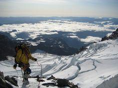 mountaineering on rainier