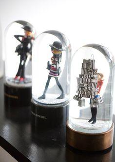 Fashionable Snow Globes!