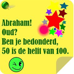 ecard 50 jaar abraham 26 best Verjaardagswensen voor Abraham 50 jaar images on Pinterest  ecard 50 jaar abraham