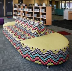 St Marks Anglican Community School - library seating