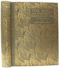 The Bells and Other Poems, by Edgar Allen Poe, Illustrations by Edmund Dulac.. London: Hodder and Stoughton,1912. First Edition. Elaborate gilt titles and decoration (yes, bells) to spine and upper, Illustrated with 28 color plates, entitled tissue guards, and several black and white drawings. Bright binding obviously held thus by being kept wrapped in its original glassine and the whole in its original grey box.  Listed by Adrian Harrington Rare Books.  #poe #dulac