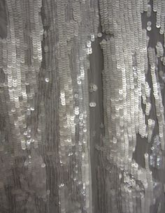 #simply Halston Heritage Fall fabrics...gray sequin glory.