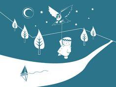 Childrens Illustration by Alan Nagle, via Behance