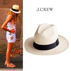 J.CREW HAT PANAMA HAT