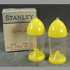 Old Salt & Pepper Set - 1950's Stanley with Original Box. I have a set I got from my mom.