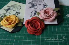 W Kartkowym Zaciszu: Flower Tutorials