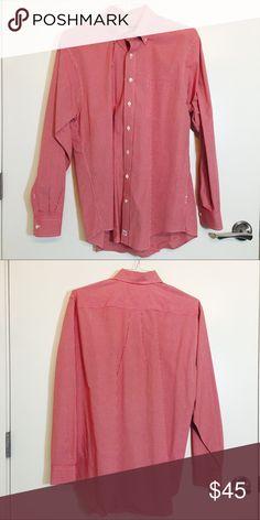 Vineyard Vines Red Checkered Murray Shirt Red Checkered Murray Shirt, Hardly Worn Vineyard Vines Shirts Casual Button Down Shirts