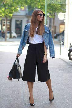 Pantacourt, como usar a calça tendência de 2015