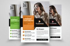 Bookkeeping & Accounting Flyer by Business Flyers on @creativemarket