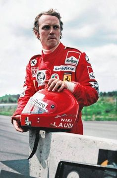 Niki Lauda was a champion Formula 1 race car driver known for his long-standing rivalry with fellow driver James Hunt.