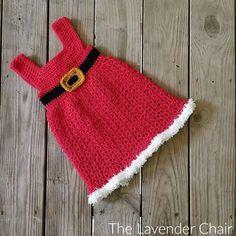 Mrs. Claus' Winter Dress Crochet Pattern - The Lavender Chair