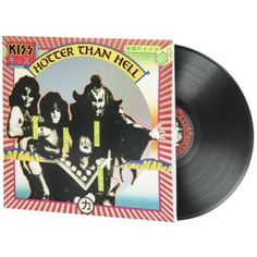 KISS - Hotter Than Hell (LP)