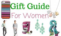 Christmas Gift Ideas for Women: Girlfriend, Wife and Daughters