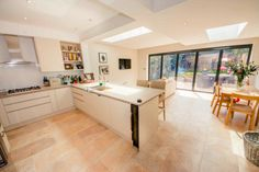 Kitchen extension in East Sheen, South W ... | DPS Ltd.