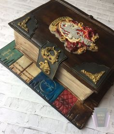 Harry Potter Gryffindor Diary Cake