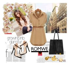 """""""Romwe 8"""" by aida-1999 ❤ liked on Polyvore featuring Pier 1 Imports and Charlotte Russe"""