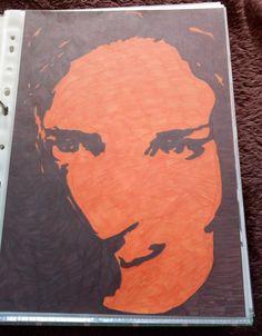 Kareena Kapoor, Zweifarbigkeit, Orange und Schwarz