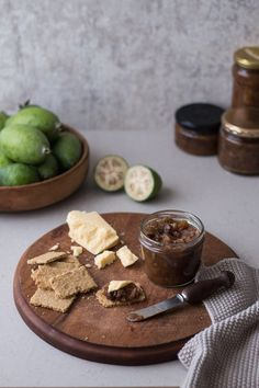 Feijoa & Ginger Chutney | HOMEGROWN KITCHEN Fejoa Recipes, Sweet Recipes, Real Food Recipes, Snack Recipes, Yummy Food, Delicious Recipes, Guava Recipes, Recipies, Apple Recipes