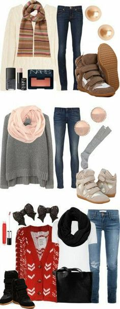 Winter Outfits .. Isabel Marant Sneakers #isabelmarantdesignershoes
