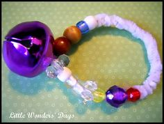 Love this - bracelet to tell the Christmas story - my daughter would love this!