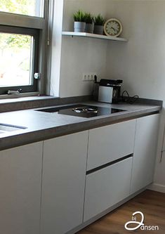 Kitchen Island Makeover, Diy Kitchen Island, Kitchen On A Budget, Rustic Kitchen, Kitchen Decor, Kitchen Design, Kitchen Ideas, Modern Kitchen Paint, Modern Kitchen Interiors