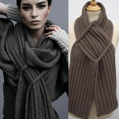 Crochet or Knit Wrap: Sweet Inspiration!