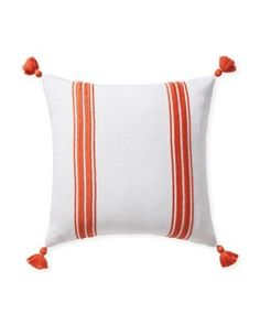 Shop the designer throw pillows collection by Serena & Lily today and discover beautifully patterned, striped & embroidered throw pillows for your home.