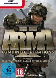 ArmA II Combined Operations (PC, Steam, Downloadversion) Deutsch, Eu, Day Z Mod