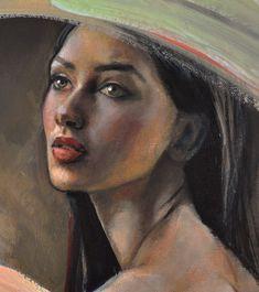 Por Amor al Arte: La pintura figurativa de Emilia Wilk desde Polonia.