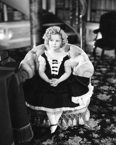 Shirley Temple in the Movie 'Poor Little Rich Girl' Photo
